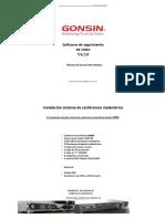 contenido solucion sistema de conferencia inalambrico Gonsin 30000