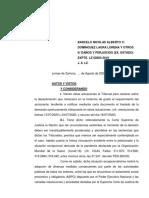 NOTIFICACION TRASLADO DEMANDA CARTA DOCUMENTO. INAPLICABILIDAD ART. 143. COVID