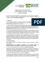 Edital Finep _ Novos Materiais