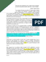 ANÁLISIS OSTEOLÓGICO DE UNA MUESTRA DE LA POBLACION YCHSMA DEL SITIO ARQUEOLÓGICO DE ARMATAMBO