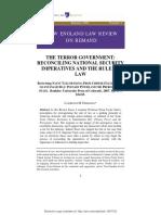 The Terror Government