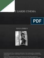 AVANT GARDE CINEMA