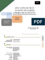 Diseño Curricular UNCuyo-Cs.sociales