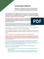 Biotechnologies.docx