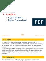 Logica Simbolica y Proposicional