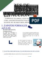 6 PARES DE ZAPATO PARA LA ACCIÓN .pptx