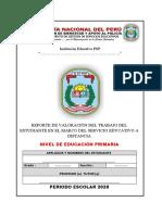 2 PRIMARIA BOLETA DE VALORACIÓN I SEMESTRE JLR (1)
