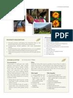 Fact Sheet Hotel Rio Sagrado [English]