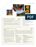 Fact Sheet Hotel Rio Sagrado -Spanish