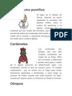 Jerarquia de la Iglesia Catolica