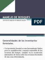 Inventarios forestales