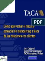 Aprovechar el Potencial Outsourcing a favro del cliente - TACA.pdf
