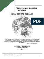 COLEGIO FRANCISCANO AGUSTIN GEMELLI 4°
