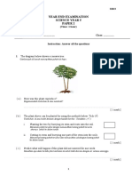 paper 2 SAINS year end exam year 5