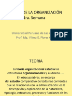 TEORIAS DE LA ORG. 1ra.Semana