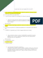 TERCERA ENTREGA DE CUESTIONARIO Y FORO