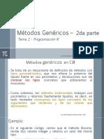 Métodos Genéricos 2