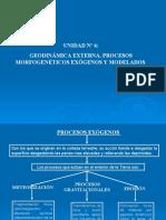 UNIDAD 6 PROCESOS EXOGENOS Y MODELADOS