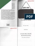 Amin, Samir - La Ley del Valor Mundializada (Por un Marx sin Fronteras) [scan OCR]