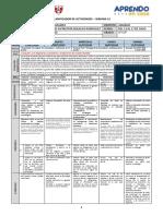Planificador de actividades - SEMANA 15