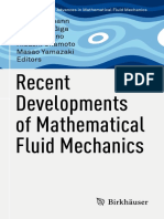 [Advances in Mathematical Fluid Mechanics] Herbert Amann, Yoshikazu Giga, Hideo Kozono, Hisashi Okamoto, Masao Yamazaki (Eds.) - Recent Developments of Mathematical Fluid Mechanics (2016, Birkhäuser) - Libgen.lc