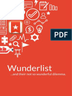 44 - [ACTIVITY] Wunderlist and Their Not-So-Wunderful Dilemma