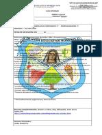 guía de finalización de periodo español 1 grado 2