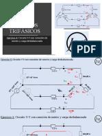 20. CTR-4 CIRCUITOS TRIFÁSICOS EJ-4 Circuito YY con neutro y carga desbalanceada