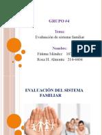 Evaluación del sistema familiar22222222