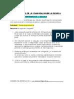 PRODUCTOS SESION 2 FORTALECIMIENTO DE LA COLABORACION EN LA ESCUELA psicologia