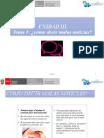 3 UNIDAD III - COMO DECIR MALAS NOTICIAS