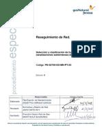 PE.02750.ES-MN-PT.03  RESEGUIMIENTO