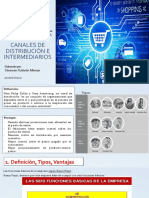 Tarea3 Canales de distribución e intermediario