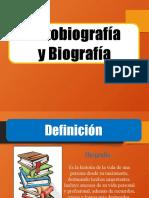 BIOGRAFIA Y AUTOBIOGRAFÍA