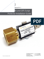 GPS CABLE INSTALLATION AND SURGE