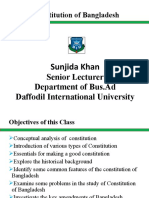 Lecture 8-9 Constitution of Bangladesh