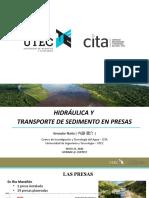 phd KENSUKE HIDRÁULICA Y TRANSPORTE DE SEDIMENTOS EN PRESAS