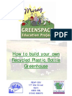 How to build your own Recycled Plastic Bottle Greenhouse - Education Project