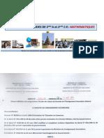Nouveaux Programmes Maths 2nde A et 2nde C-E