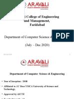 Aravalicollege_Dept of CSE