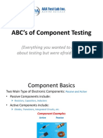 ABC's of Component Testing