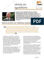 BC Guidance Note Renovation of Thermal Elements
