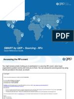 SMART by GEP 2.0 - Supplier Quick Reference Guide - RFx