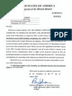 Ron Johnson Subpoena to FBI Director Wray
