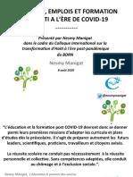 CHÔMAGE, EMPLOIS ET FORMATION EN HAITI A L'ÈRE DE COVID-19.pdf