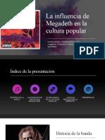 Presentacion Megadeth  lista