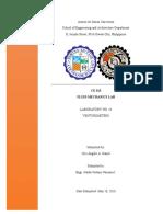 Fluids Lab Report 14