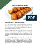 Bombas de patata y parmesano (2)
