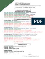 1 Structura an univ.  licenta  2019-2020 AAI