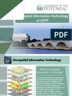 geospatial  technology uotp 1 1